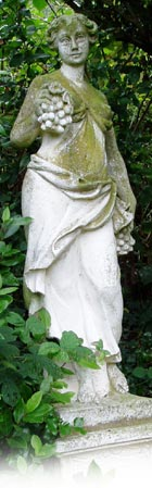 the old rectory statue